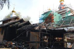 Суд приговорил поджигателя храма в Тушине почти к трем годам колонии