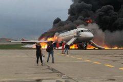 Минздрав: В больницах остаются девять пострадавших в горящем самолете в Шереметьеве