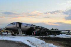 В Росавиации рассказали о действиях экипажа SSJ-100 перед катастрофой в Шереметьево