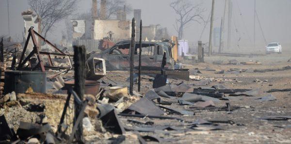 В Забайкалье из-за природных пожаров возбудили 75 уголовных дел