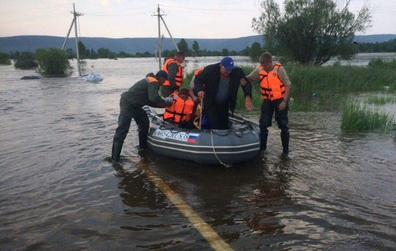 Наводнение в Иркутской области. Что происходит