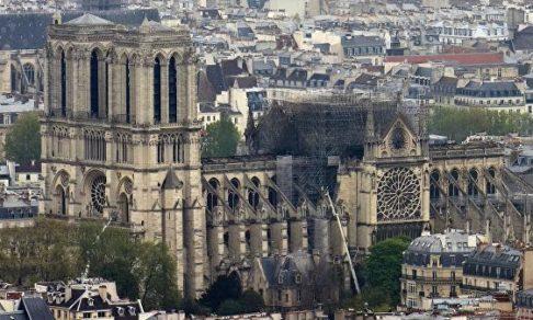 В соборе Парижской Богоматери пройдет первая после пожара месса