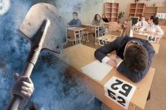 Как лопата стала символом ЕГЭ-2019 и почему дети смеются над текстом о войне