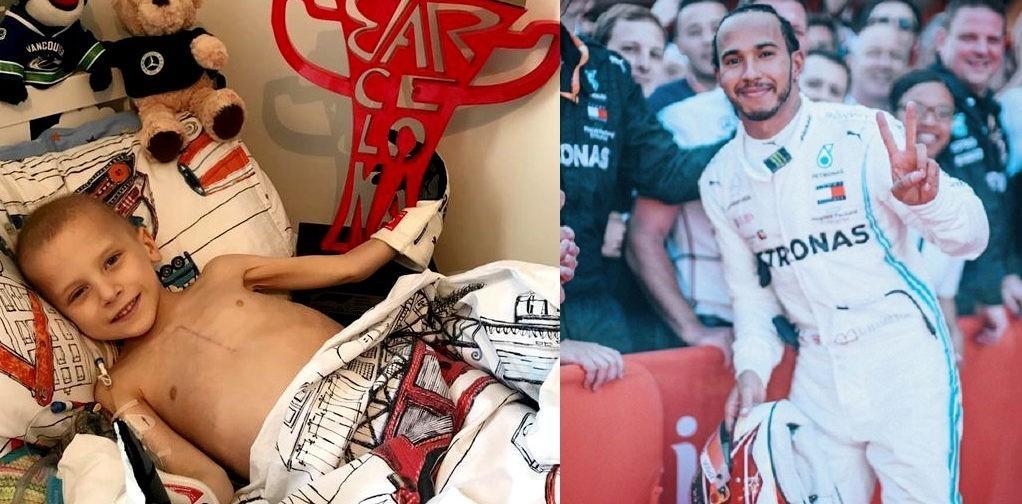 «Я хочу быть таким же сильным, как ты». Пилот «Формулы-1» посвятил свою победу мальчику с саркомой