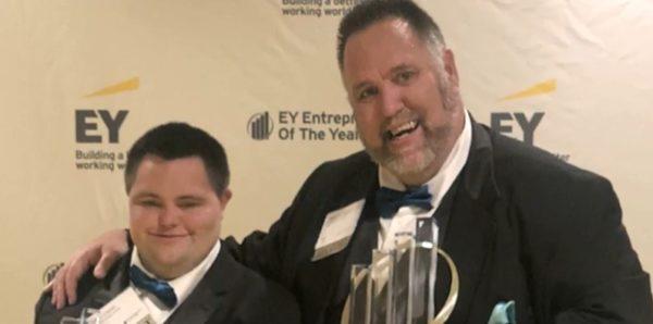 Человек с синдромом Дауна стал предпринимателем года в США