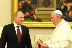 Владимир Путин встретится с Папой Римским в июле