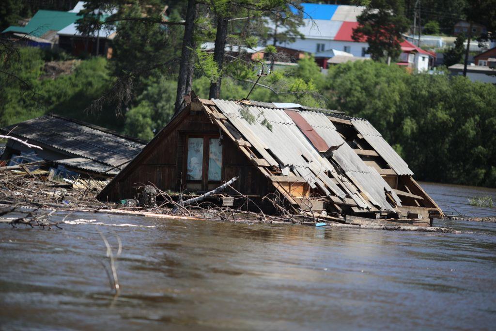 после затопления