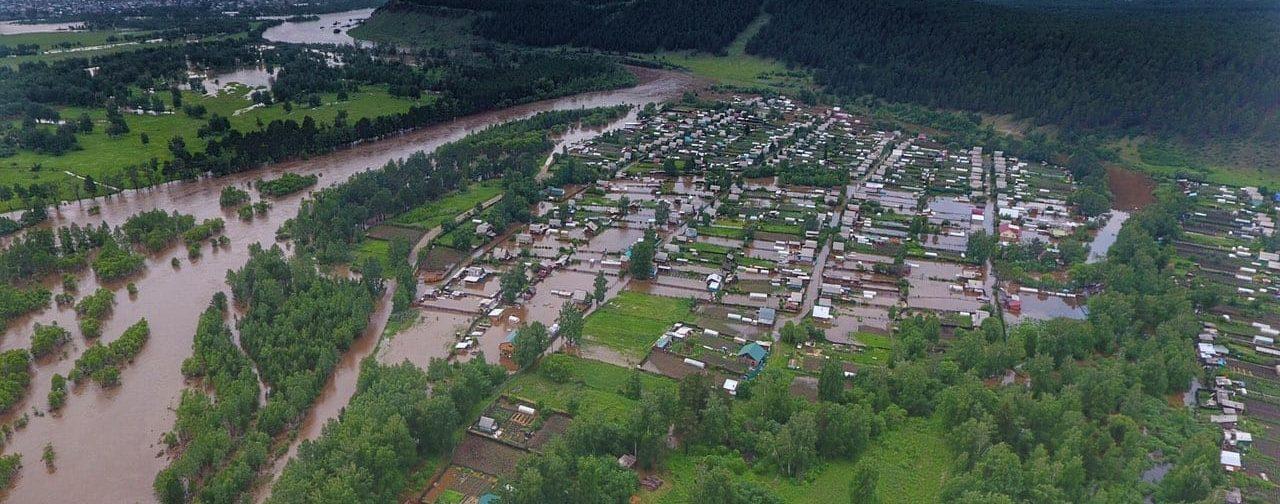 Наводнение в Иркутске. Люди потеряли все