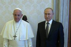 В Ватикане прошла встреча Путина и Папы Римского