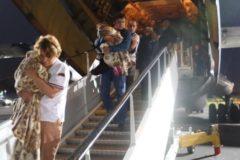 В Москву доставили 33 ребенка заключенных в Ираке россиянок