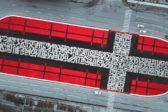 В Екатеринбургской епархии не увидели ничего плохого в стрит-арте в виде креста художника…