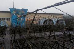 В Хабаровском крае сгорел детский палаточный лагерь: один ребенок погиб, трое в коме