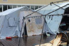 Получивший тяжелые ожоги мальчик спасал детей во время пожара в палаточном лагере