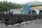 Четвертый ребенок умер после пожара в детском палаточном лагере