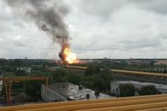 """Под Москвой загорелась ТЭЦ """"Северная"""", есть пострадавшие"""