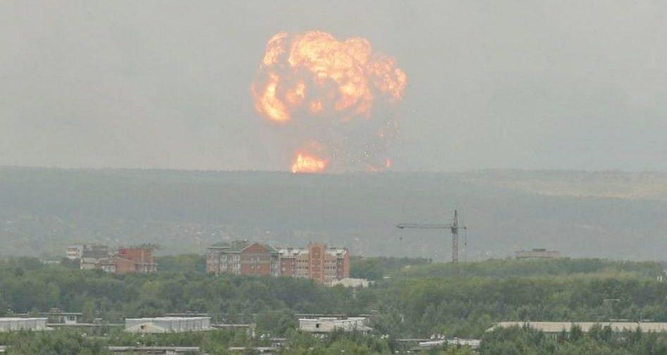 """""""Прямо как в """"Чернобыле"""" показывали"""". Что известно о взрывах на складе с боеприпасами под Ачинском"""