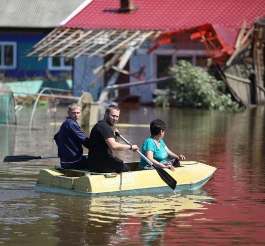 Наводнения в Иркутской области