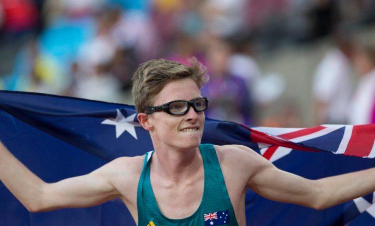 «Бегите так быстро, как только можете». Слабовидящий стал одним из лучших спортсменов Австралии