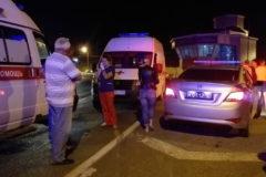 Более 40 человек попали в больницу после аварии с автобусом в Новороссийске