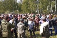 В Омской области нашли трехлетнего мальчика, на поиски которого вышли сотни человек