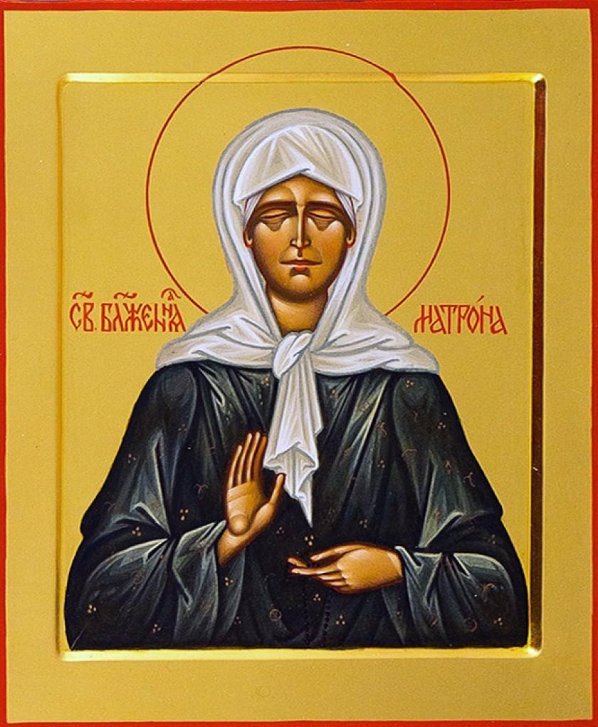 икона Матроны Московской и молитвы перед образом