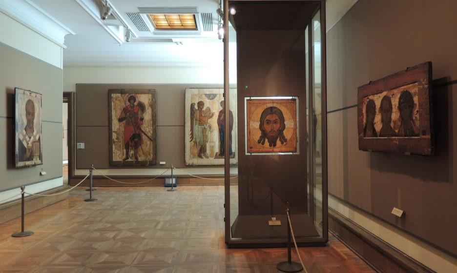 Фото икон христа из третьяковской галереи выдвижных вместительных