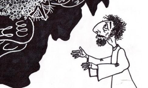 """""""Достойно ли священнику чиркать ручкой?"""" Рисунки отца Сергия Круглова"""