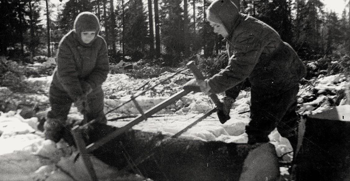 Лесоповал, общая баня и трудодень. Как работали люди в самый разгар войны