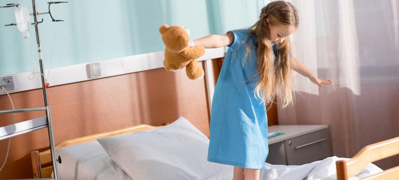 Девочка, которая жила в больнице, поедет домой?