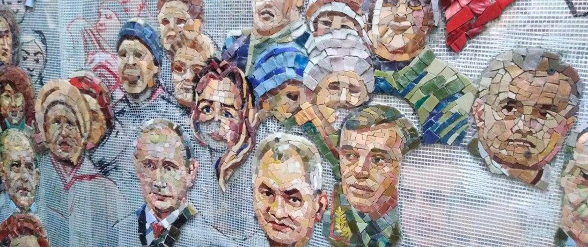 В стиле советского плаката. Искусствоведы, священник и иконописец — о храме Вооруженных сил России