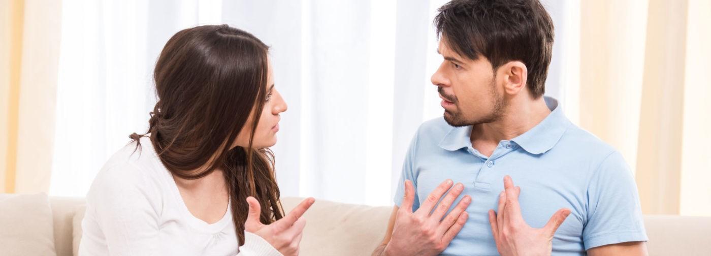 Муж жене — слово, она ему — десять. А в ссоре всегда виноват кто-то другой