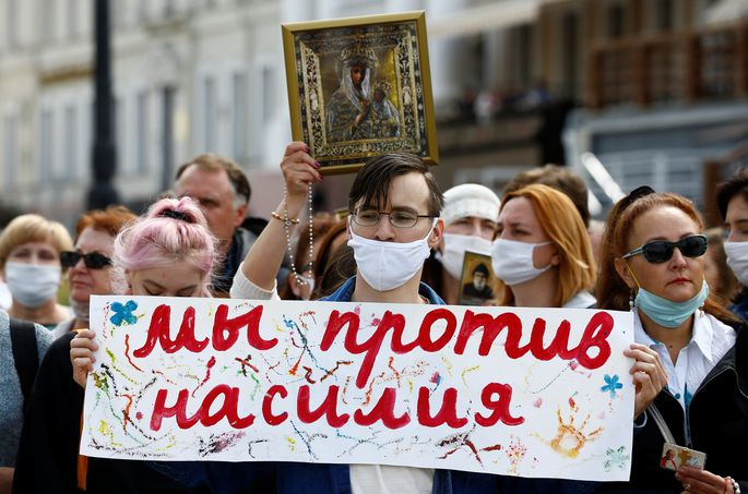 «Это не Майдан, люди надеются на мирные перемены»