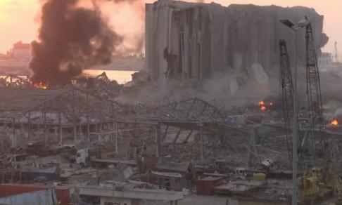 ВБейруте прогремел мощный взрыв, есть погибшие, тысячи человек ранены