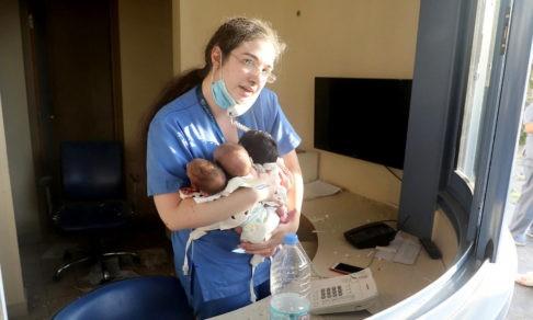 Ангел Бейрута. Медсестра спасла троих младенцев после взрыва