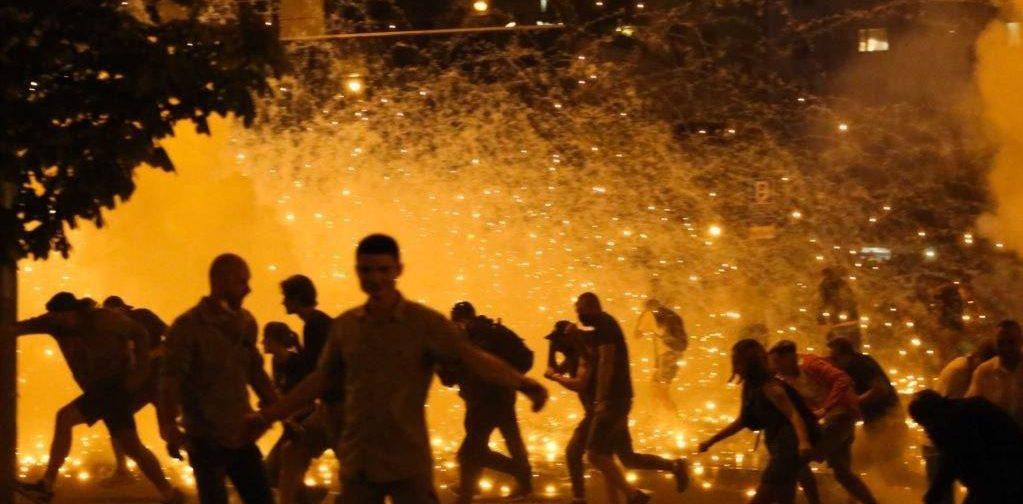 Протесты после выборов в Беларуси. Что случилось ночью