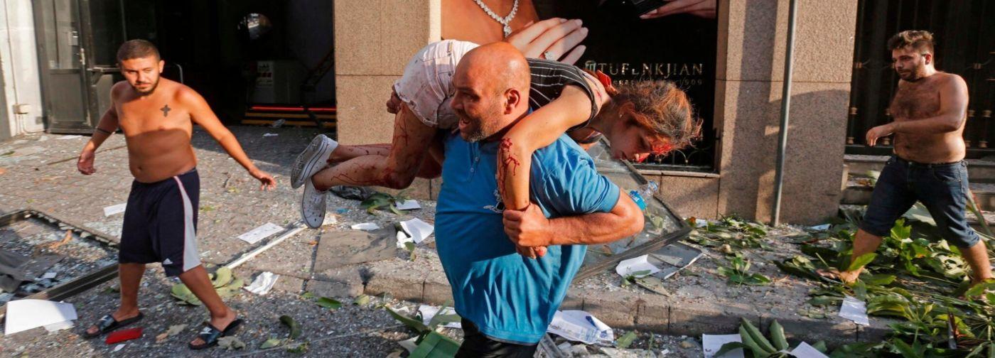 Я была вся в крови и тряслась от страха. Но незнакомцы в Бейруте спасли меня