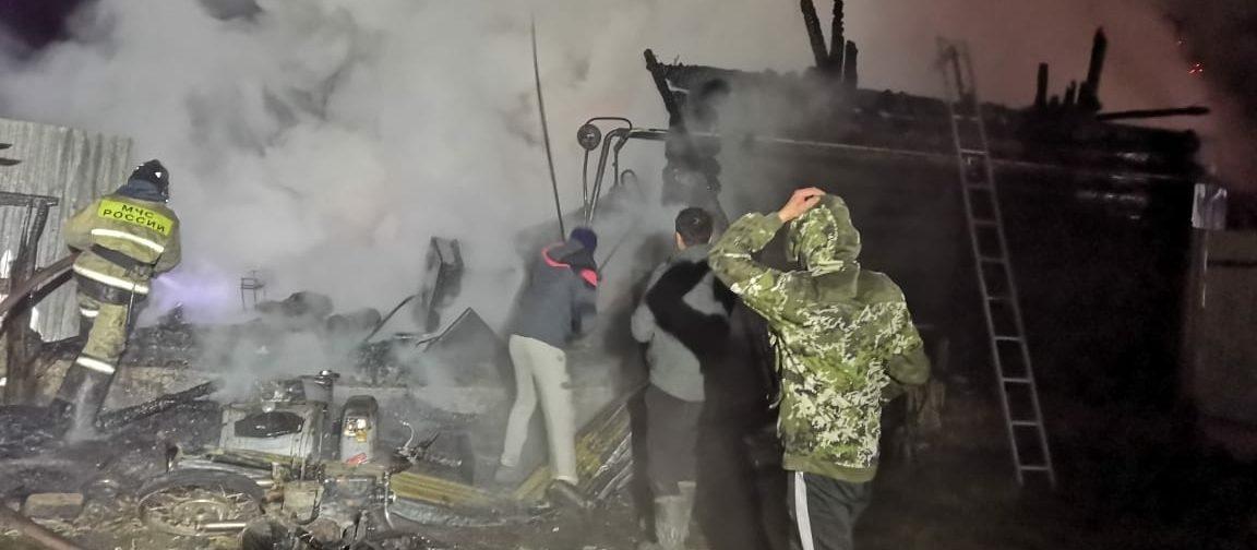 В Башкирии произошел пожар в доме престарелых. Погибли 11 человек