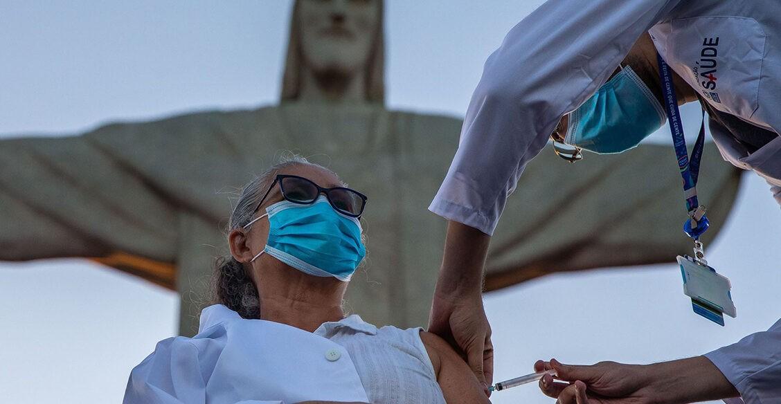 Вакцинация по всему миру