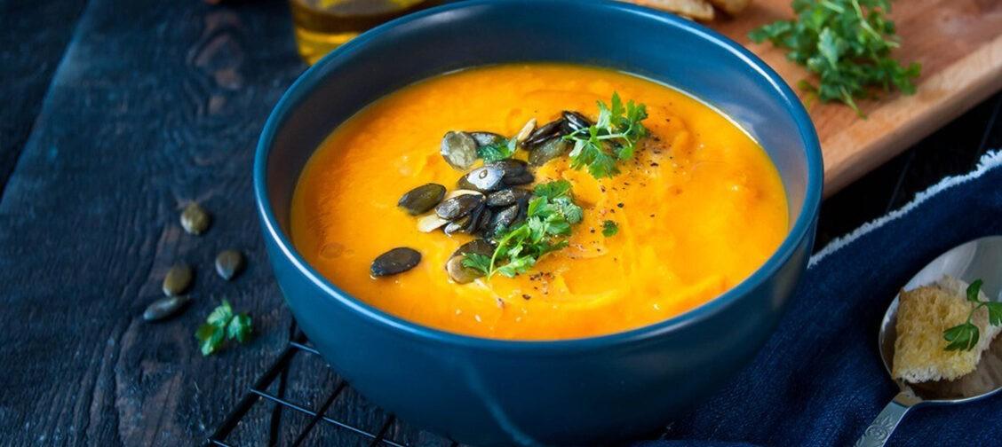Тыквенный суп. Постные рецепты от священника Петра Гурьянова