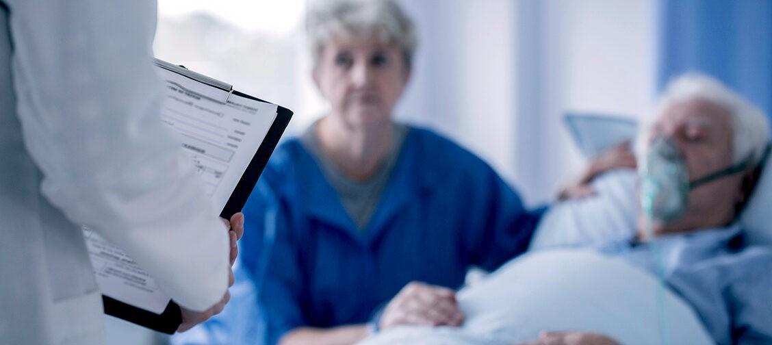 «А в этой больнице у вас есть знакомые врачи?»