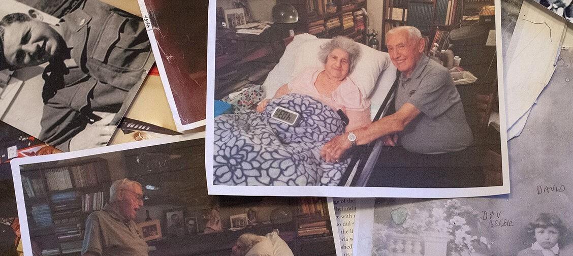 «Мы полюбили друг друга в Освенциме, а потом оказались в разных лагерях». Дэвид нашел возлюбленную через 72 года