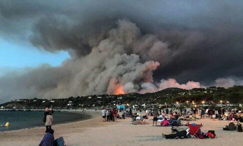 В Турции лесные пожары подошли к курортам. Что известно