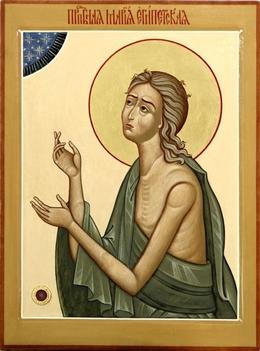 Мария Египетская. Икона