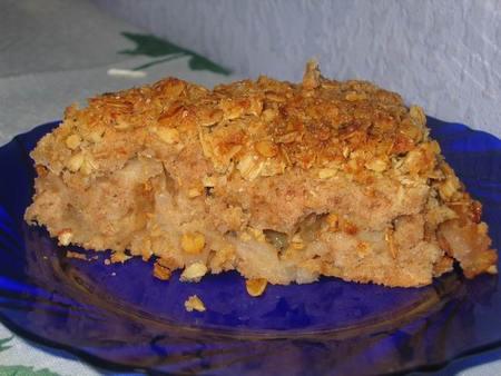 Овсяный пирог рецепт фото