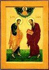 Святые апостолы Петр и Павел: день казни и день торжества над смертью