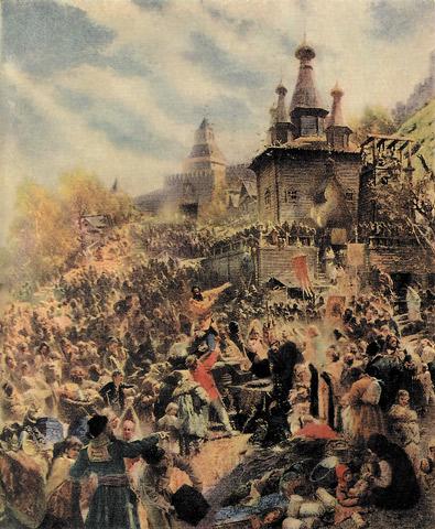 ...движения против польских интервентов в 1611 году вылился в создание первого народного ополчения, но...