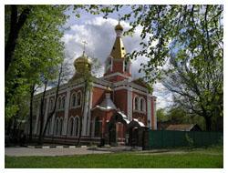 Мощи Святой Матроны Московской. Храм Воскресения Христова на бывшем Семеновском кладбище