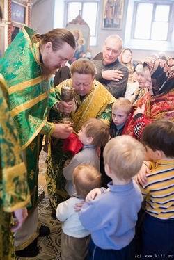 Таинство Причастия в Церкви
