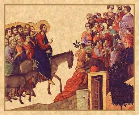 Вход Господень в Иерусалим. Новая иконография